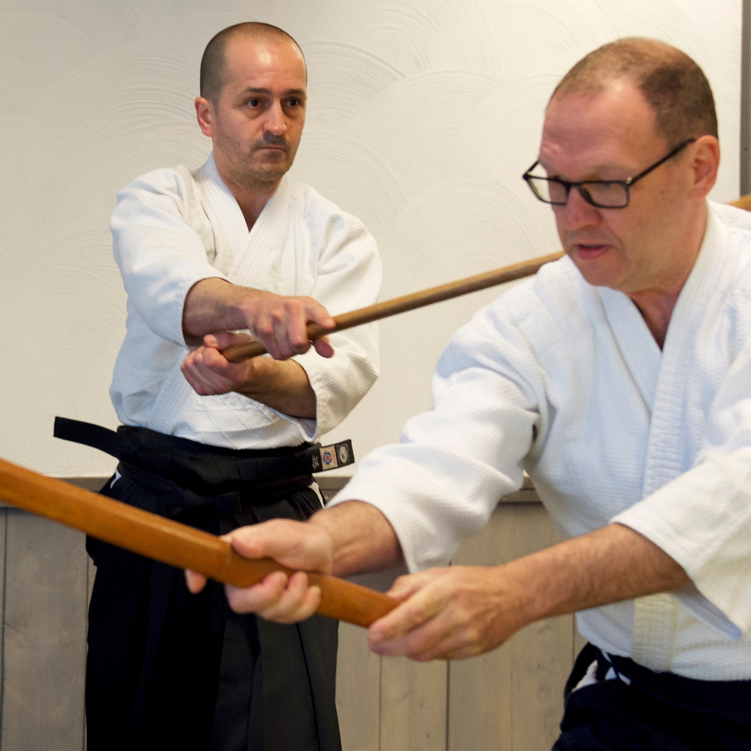Bokken training - houten zwaard